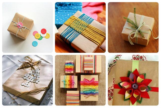26 idėjos įdomiam dovanų supakavimui