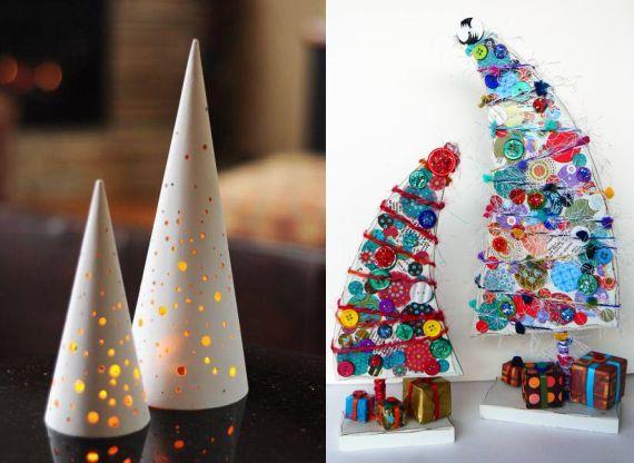 20 originalių eglučių Kalėdinei nuotaikai sukurti
