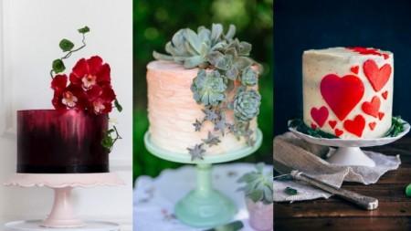 Mažiau yra daugiau: įspūdingi vieno aukšto vestuvių tortai