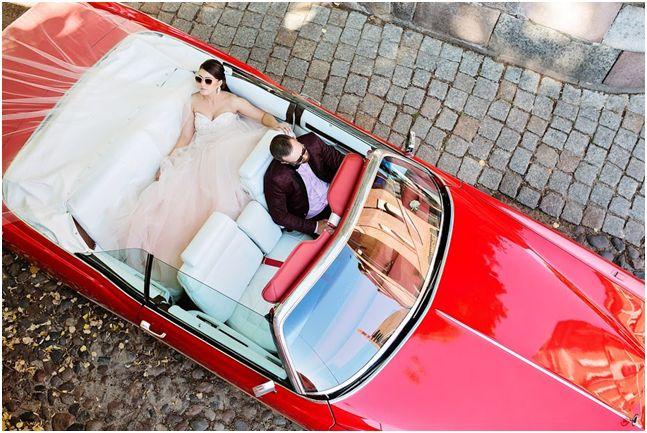 Retro automobilių nuoma vestuvėms ir šventėms (Retro Cadillac Eldorado)